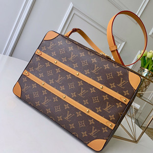 lv louis vuitton soft trunk messenger mm bag #m44754