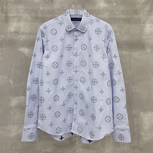 lv louis vuitton placed graphic shirt