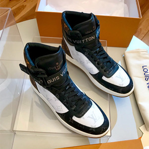 lv louis vuitton rivoli sneaker boot shoes