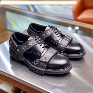 lv louis vuitton derby harness derby shoes
