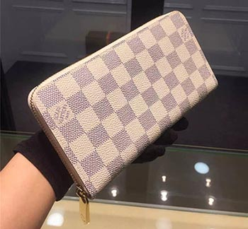 louis vuitton zipper wallet azure white
