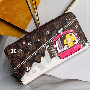 lv louis vuitton zippy wallet #n60015