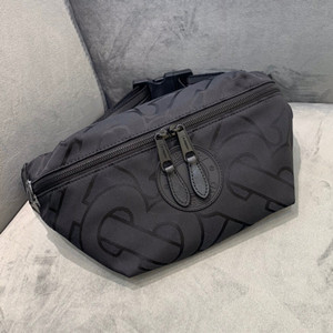 burberry monogram recycled polyester sonny bum bag