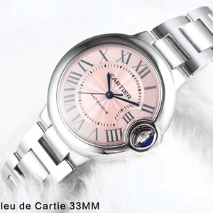 cartier ballon blue de cartier watch 33mm v6 factory