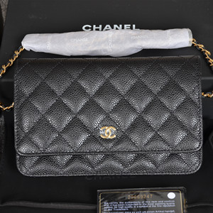 chanel classic wallet on chain bag