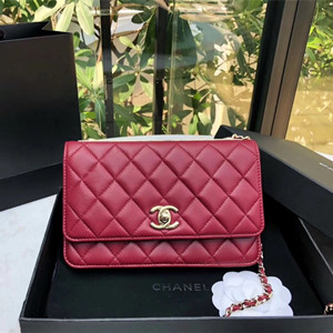 chanel woc wallet on chain 19.5cm bag