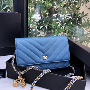chanel woc wallet on chain bag