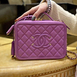 chanel small vanity case bag