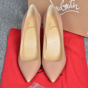 christian louboutin patent leather high heeled sandals shoes