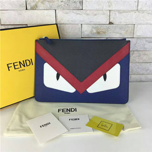 fendi zipped bugs handbag monster bag wallet 30cm