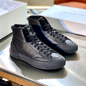 givenchy chain tennis high sneaker shoes