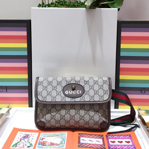 gucci gg supreme belt bag #493930