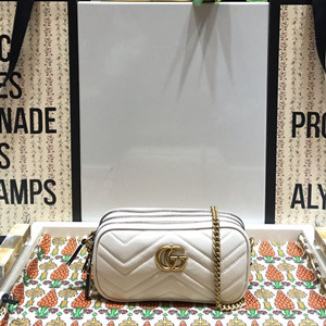 gucci gg marmont mini chain bag #546581