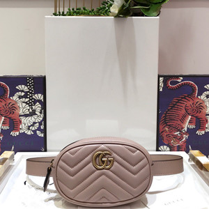gucci marmont matelasse leather belt bag #476434