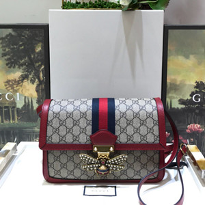 gucci queen margaret gg supreme medium shoulder bag #524356