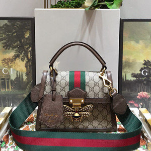 gucci queen margaret gg small top handle bag #476541