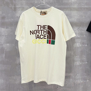 gucci x the north face cotton t-shirt