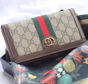 gucci ophidia gg zip around wallet #523154