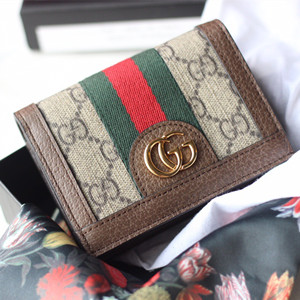 gucci ophidia gg card case wallet #523155