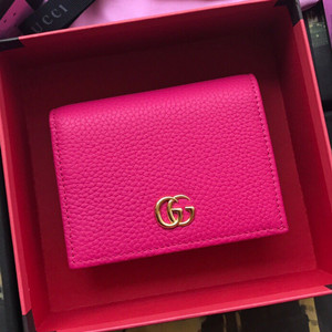 gucci leather card case wallet #456126