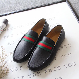 gucci leather loafer shoes for men