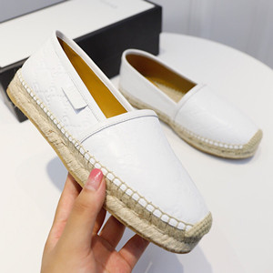 gucci signature leather espadrille shoes
