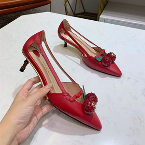 gucci leather pump shoes #8002-1