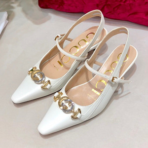 gucci zumi leather pump shoes