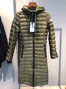 moncler budapest long down jacket