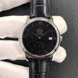 omega de ville co-axial power reserve 39.5mm watch zf factory