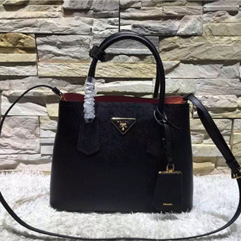 prada double bag 30cm&33.5cm 06