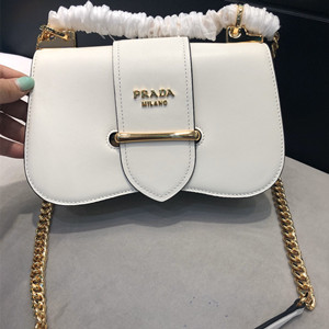 prada sidonie leather shoulder bag #1bd184
