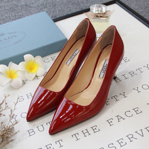prada leather pump shoes #626