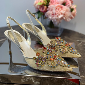 rene caovilla pump shoes