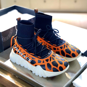 versace squalo sneakers shoes