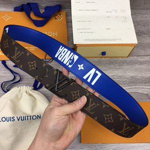 lv louis vuitton x nba 40mm belt