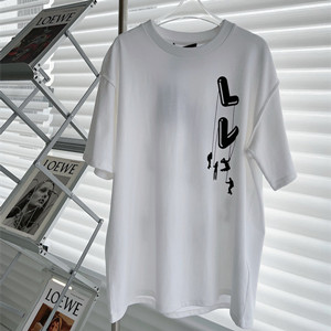 lv louis vuitton floating lv printed t-shirt