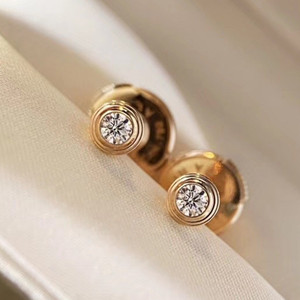 cartier diamonds legers earrings