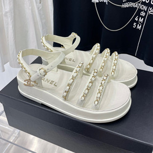 chanel sandals shoes