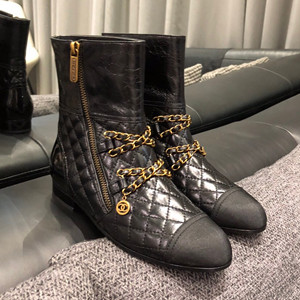 chanel snkle boots shoes