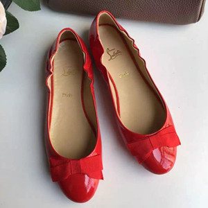 Christian louboutin dance slippers shoes