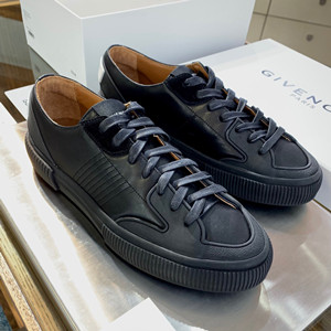 givenchy low sneakers shoes in leather