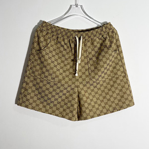 gucci x the north face gg canvas shorts