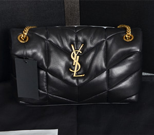 ysl saint laurent loulou puffer small bag in quilted lambskin #577476